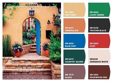 warm southwestern color combination  colors