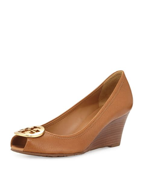 Leather Wedges 2 burch sally 2 leather wedge in brown lyst