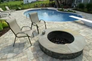 Patios And Pools by Set Your Landscape And Swimming Pool Areas With Natural