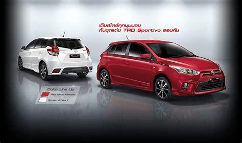 Spoiler All New Toyota Yaris Trd Spoiler All New Yaris Murah toyota yaris trd sportivo เป ดต วแต งเจ าอ โค คาร