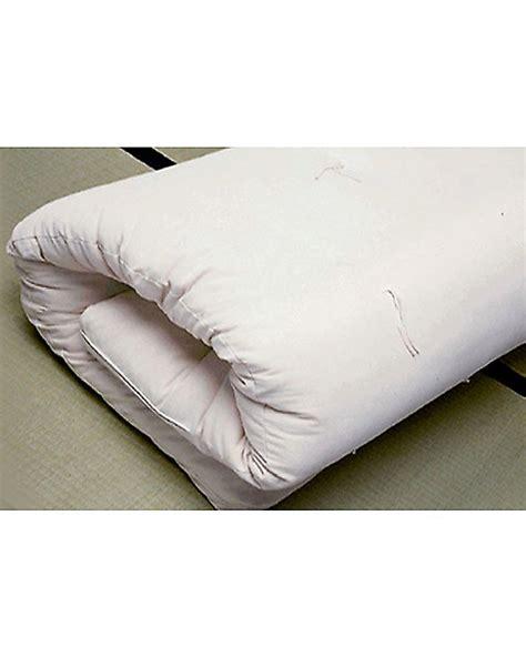materasso futon woodly materasso futon 140x180 cm 100 puro cotone