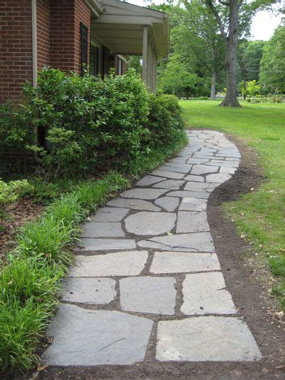 25 best ideas about slate walkway on pinterest slate pavers flagstone walkway and flagstone