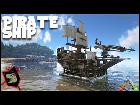 ark house design xbox one ark survival evolved gameplay 55 pirate ship design aka