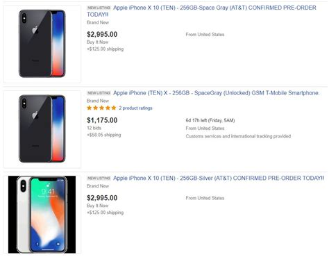 ebay iphone x iphone x preturi ametitoare la bisnitarii ebay idevice ro