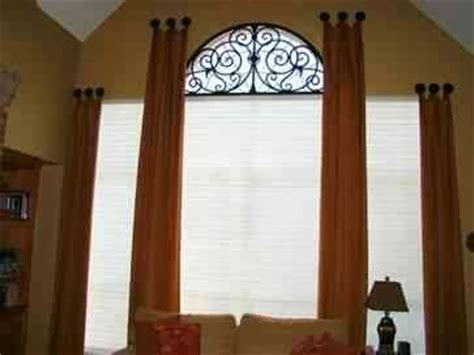 half moon window curtain ideas window treatments by ask how to dress an