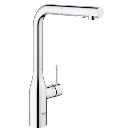 grohe pull out kitchen faucet 2018 grohe 30271000 starlight chrome essence pull out kitchen faucet with 2 function locking sprayer