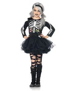 scary halloween costumes for girls scary skeleton girls costume cute kids costumes