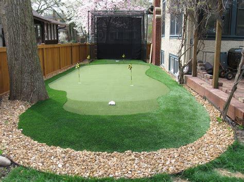 backyard putting green green backyard backyard putting
