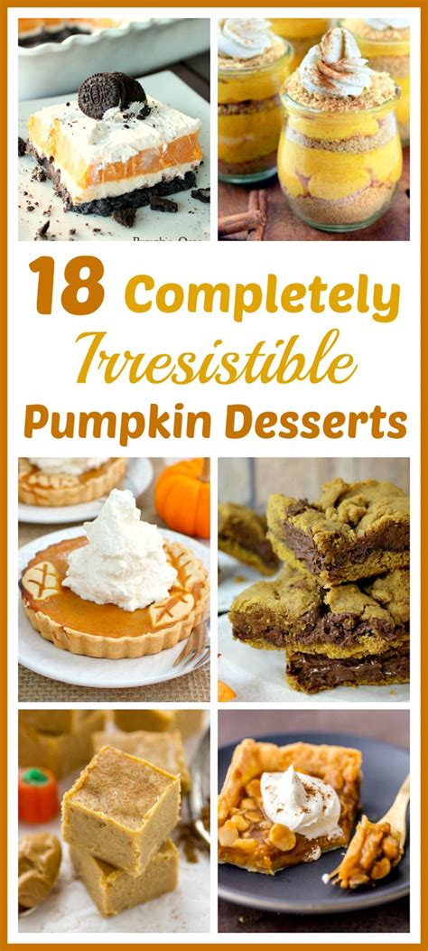 Links For 2006 08 18 Delicious by 18 Completely Irresistible Pumpkin Desserts Fall