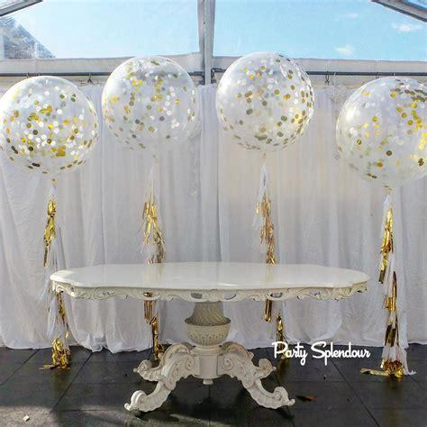 Jumbo Decorations - confetti tassel balloons sydney splendourparty