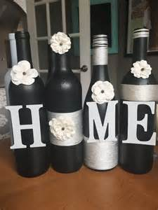 wine decorations for the home best 10 wine bottle vases ideas on pinterest chalkboard