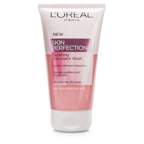 L Oreal Wash loreal skin perfection soothing gel wash 150ml