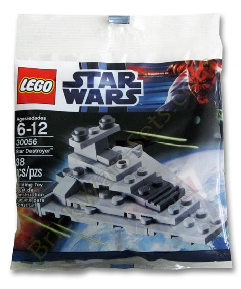 Lego 30056 Destroyer Mini Polybag New Lego Wars Polybag Sets Available At Wal Mart