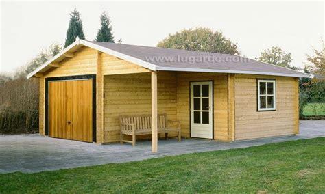 prefab garage kits lugarde oklahoma wooden garage log