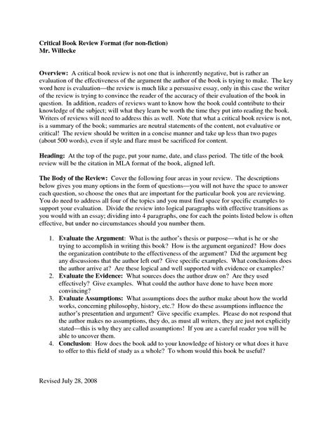 critique sle essay best photos of critique essay structure critical book