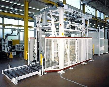 Robot Bosch 2555 by Packaging Bottomer And Palletising Packaging Gateway