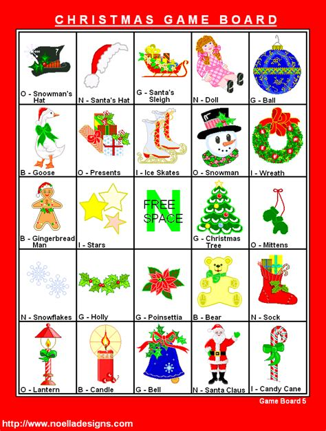printable christmas bingo game cards 6 best images of free printable christmas bingo game