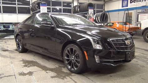 cadillac ats blacked out 2017 cadillac ats coupe awd carbon black package
