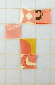 pattern grid interfacing keep quilt squares aligned with a fusible interfacing