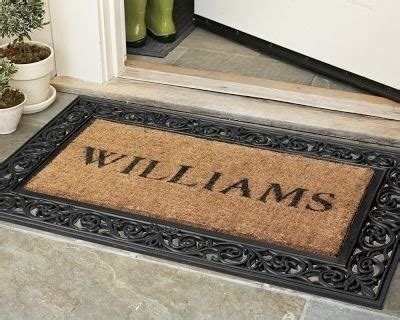 Personalized Front Door Mat Diy Personalized Front Door Mat My Rook Nest