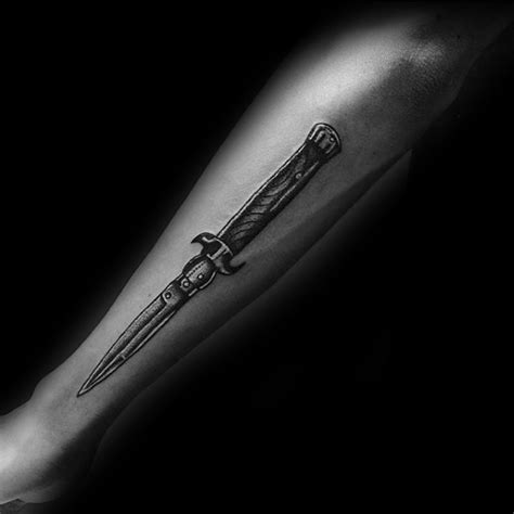 72 amazing switchblade tattoo ideas and designs collection