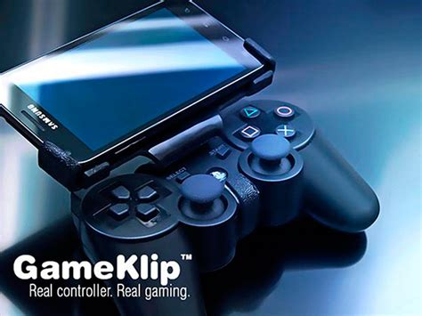 ps3 controller on android gameklip combines ps3 controller with android phones poor s playstation phone