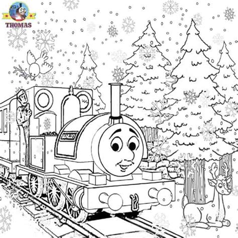 free coloring pages of thomas hero of the rails