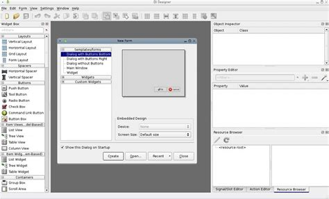 qt tutorial dialog box dialog creation freecad documentation