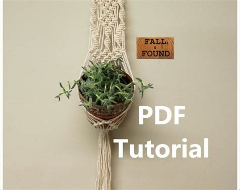 Macrame Pdf Free - 25 best ideas about macrame plant hanger patterns on