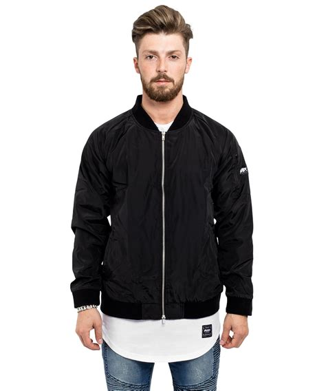 Jaket Inv Bomber Simple Black all black bomber jacket jackets review