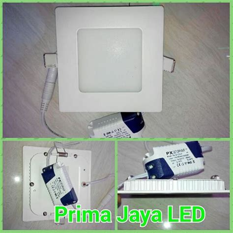 Led Kotak ceiling led kotak tipis 6 watt prima jaya led