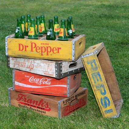 running with scissors vintage crate for magazine storage image gallery soda crates