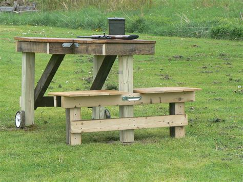 shooters bench shooting table plans reloading bench plans woodworking