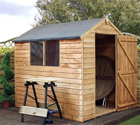 Garden Shed 5 X 7 by 7 X 5 Buckingham Value Apex Garden Shed