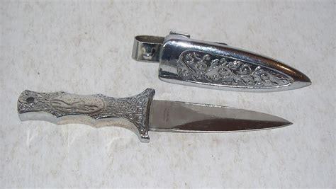 stainless steel pakistan knife stainless steel pakistan scrollwork boot belt knife dagger