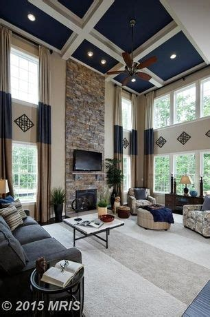 transitional living room  calico corners custom window