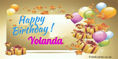 Yolanda Birthday | happy birthday yolanda free ecards