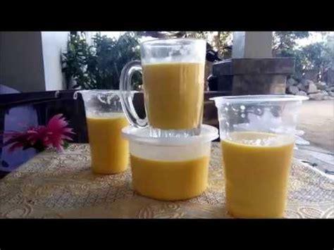 membuat jus jagung  nikmat youtube