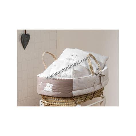 culla cesta cesta in palma con piumetto mami picci