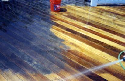 oxygen bleach   deck