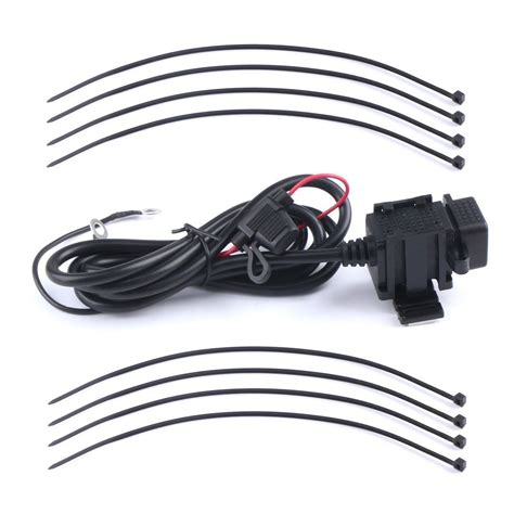 Motorcycle Usb Charger waterproof dual usb charger motorcycle cell phone charging port 12v to 5v 2 g2f7