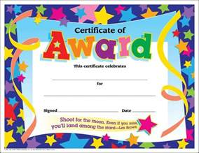 25 best ideas about award certificates on