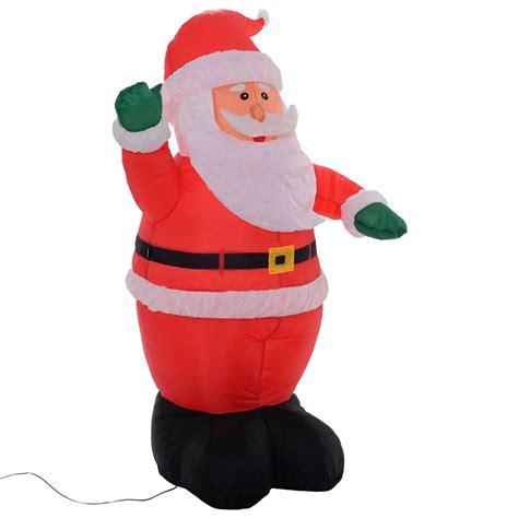 outdoor 5 ft airblown inflatable christmas xmas santa