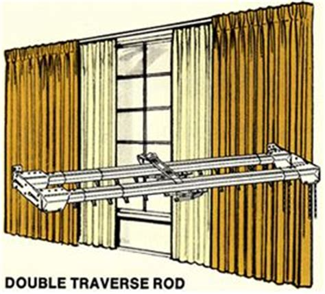 how to hang drapes on traverse rod pinterest the world s catalog of ideas