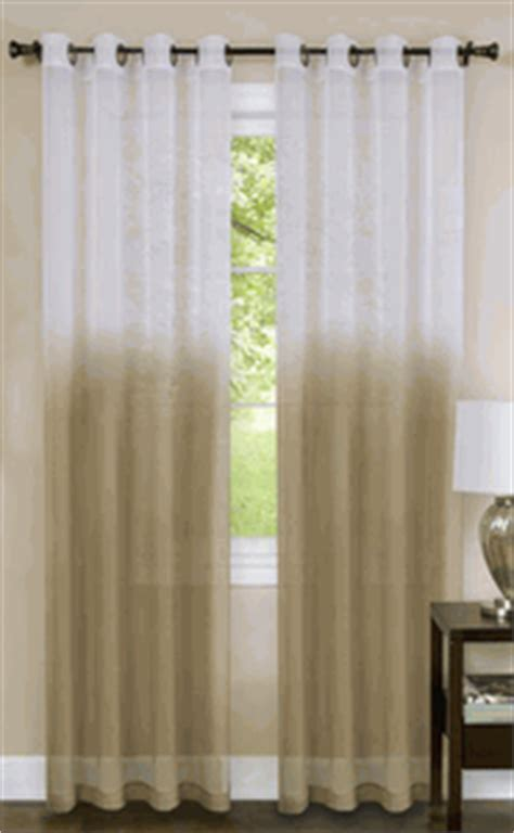 tan sheer curtains essence grommet curtain tan window treatments