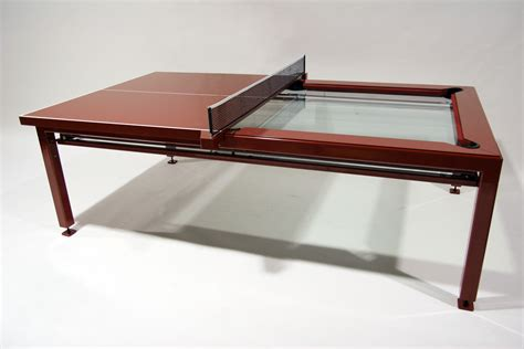 Ping Pong Dining Room Table by Elite Innovations Quantum Play Designer Games Products