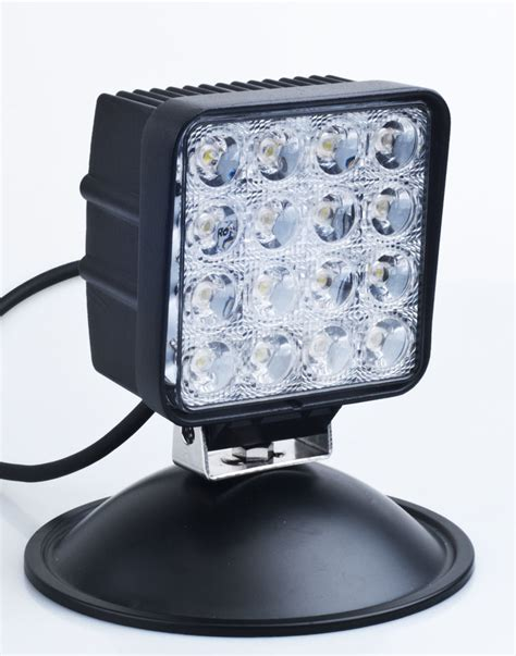 Dc Led Lights by China 12v 24v Multi Volt Dc 48w Led Work Light 1210 48w