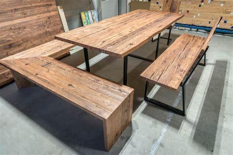 tisch mit sitzbank tisch mit sitzbank altholztische