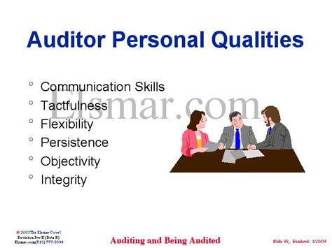 auditor personal qualities