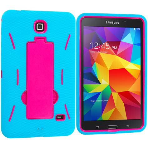 Second Samsung Tab 4 8inch hybrid rugged stand cover for samsung galaxy tab